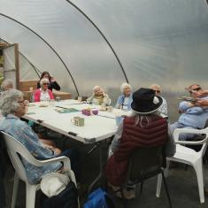 Workshop run by Jane Bailey, Trengwainton