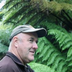 Gareth, gardener at Trengwainton for 27 years.