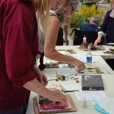 Workshop at Trengwainton. Photo © Barbara Santi