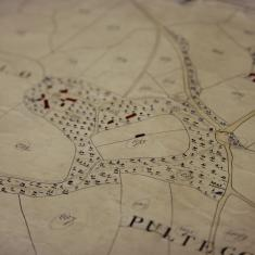 Tithe Map, 1840.  Reproduced by kind permission of Cornwall Record Office, CRO reference: TM/133